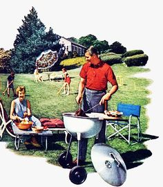Afbeeldingsresultaat voor life in the illustrations Romance, Happy Family, Vintage Ads, Summer Fun, Have Fun, Illustrations, Housewife, Life, Children
