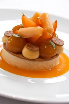 Chiffon fresh apricots with rosemary - The Jerome Lawrence © Mondière (1)