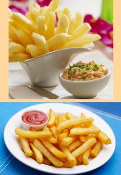 Frytki belgijskie Macaroni And Cheese, Pizza, Food And Drink, Drinks, Ethnic Recipes, Mac Cheese, Drinking, Mac And Cheese, Drink