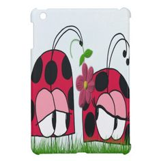 The Ladybug Wooing His New Love ~  IPad Mini Case, $42.95