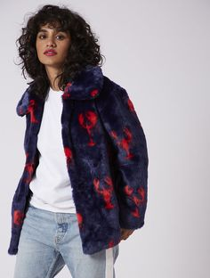 From bomber jackets to faux fur, shop the latest trends with the Lobster Coat from Skinnydip London. Black Women Fashion, Womens Fashion, Skinnydip London, Lobsters, Faux Fur, Jumper, Clothes For Women, Denim, Stylish
