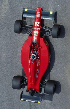 Gerhard Berger   Ferrari 640  1989 Brazilian Grand Prix