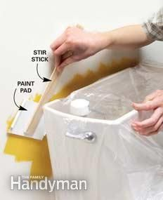 Mess-free painting tips - a must-read before painting walls or furniture!