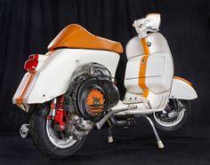 Piaggio Vespa, Lambretta Scooter, Vespa Scooters, Vespa Px 200, Scooter Garage, Scooter Motorcycle, European Motorcycles, Yamaha Motorcycles, Vintage Vespa