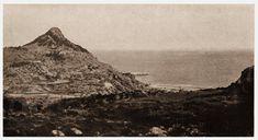 Ρόδος. Πανόραμα της Παναγιάς Τσαμπίκας της (Ψιλής), και άποψη της παραλίας της 1930 ..
