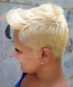 Blonde......