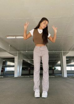 Adrette Outfits, Indie Outfits, Teen Fashion Outfits, Retro Outfits, Cute Casual Outfits, Look Fashion, Stylish Outfits, Fall Outfits, Vintage Outfits