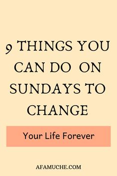 Things you should do every Sunday to have a productive and better week, things to do on Sunday when bored, things to do on Sunday posts, awesome things to do on Sunday for a better week, tips to… Self Development, Personal Development, Mental Training, Self Improvement Tips, Time Management Tips, Negative Thoughts, Best Self, Self Help, Good To Know