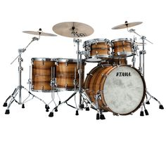 TAMA Star Bubinga Exotix (Natural Figured Blackwood Shell)