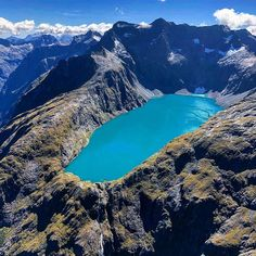 Lake Erskine, Queenstown District, New Zealand. - Instagram photo credit: @nzheliking #lakeerskine #NZ_lakes