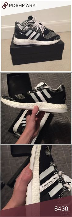 Y-3 Pureknit ZG Lightly worn y-3's selling at a lower price because i want to give these to someone who can appreciate the shoe. Adidas Shoes Sneakers