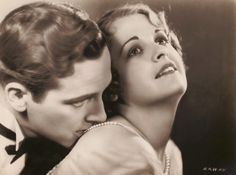 David Manners and Francis Dade in He Knew Women, RKO Pictures, 1930.