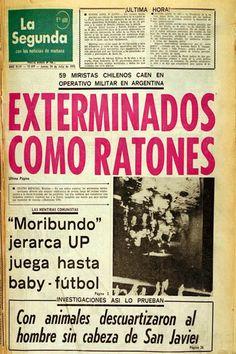 "13.09.13: Presentan primera querella contra Agustín Edwards por titular de La Segunda que trató de ""ratas"" a miristas asesinados | El Mostrador"