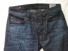 DIESEL Safado Slim Straight Leg Jeans Indigo Blue 0U801 Size 27x30 #DIESEL…