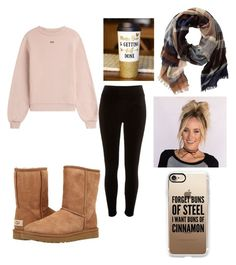 """""""Outfit 93"""" by lizzie-adams-3 ❤ liked on Polyvore featuring River Island, Off-White, UGG, TravelSmith and Casetify"""