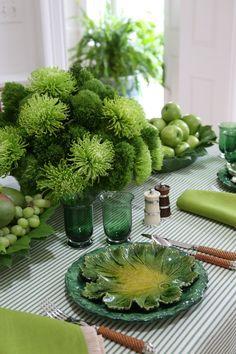 Carolyne Roehm's Green Goddess