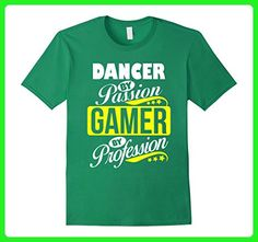 Mens Dancer by Passion Gamer by Profession T Shirt 2XL Kelly Green - Careers professions shirts (*Amazon Partner-Link)
