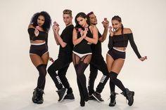 Anitta e seus dançarinos gravaram uma versão de 'Bang' para a campanha da Coordenadoria Especial da Diversidade Sexual (Foto: Divulgação)