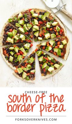 Healthy Pizza Recipe: South-of-the-Border Pizza