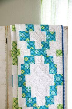 ~ Dream On Quilt Kit ~ Fat Quarter Shop's ~ Jolly Jabber. Pattern in Quiltmaker March/April '13.