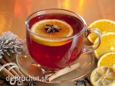 Non-Caffeine Fruit Teas Ponche Recipe, Tea Recipes, Holiday Recipes, Turmeric Juice, Good Food, Yummy Food, Fruit Tea, Christmas Tea, Fruit In Season