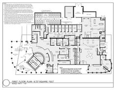 Boca Park Animal Hospital, Las Vegas, Nev. - 2014 #Veterinary Economics Hospital Design Supplement - Floor plan - dvm360