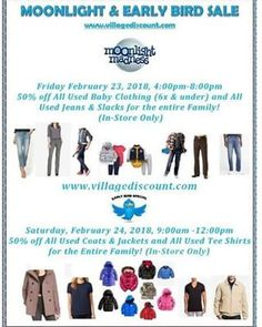 Village Discount Outlet sells used merchandise including clothing, shoes, linens, jewelry, pet products, books and other miscellaneous products.
