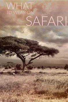 Wondering what to wear on safari in Africa? From South Africa to Kenya to Tanzania, here is the ultimate safari packing list. #AfricaTravelTanzania #AfricaTravelPacking
