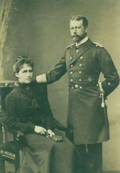 Their Royal Highnesses Prince Heinrich and Princess Irene of Prussia (Empress Alexandra's sisters). Married: May 24, 1888. Irene visited the infamous Anastasia claimant Anna Anderson. She left denying Anderson's claim to be her niece. When later pressed on the matter she said that while she was similar to Anastasia she simply wasn't.