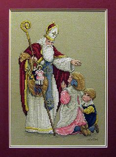"St Nicholas from Leisure Arts book ""Santa Remembered"""