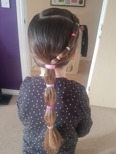 Trendy Baby Girl Hairstyles For School Ideas Pretty Hairstyles For School, Cute Hairstyles For Kids, Teenage Hairstyles, Kids Braided Hairstyles, Cute Girls Hairstyles, Princess Hairstyles, Wedding Hairstyles, Girls Hairdos, Toddler Hair