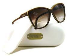 CHLOE CL 2181 Brown C02 Sunglasses Chloe. $169.00