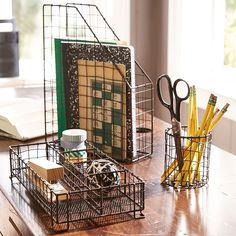 Wire Desk Accessories