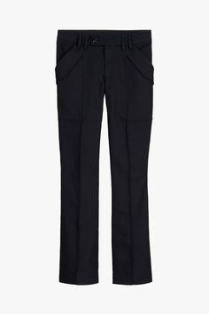 CRG PNT 05   ZARA Spain Zara Spain, Patches, Closure, Buttons, Pockets, Zipper, Detail, Interior, Pants
