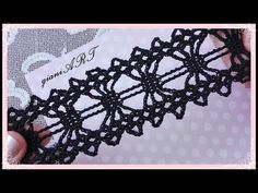 Knitting Patterns Lace Easy to Crochet TAPE LACE step by step – Knitting Patterns Lace Crochet Triangle, Crochet Lace Edging, Crochet Borders, Crochet Diagram, Crochet Doilies, Crochet Yarn, Crochet Stitches, Filet Crochet, Knit Lace