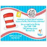 Dr Seuss Birthday Party Invitations