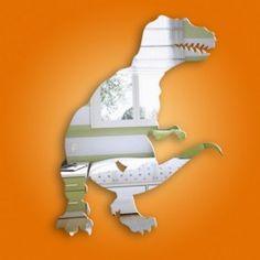 dino - dinosaur mirror - kid room - my son will love this