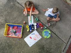 50 Art Activities You Can Take Outside by @Golden Gleam
