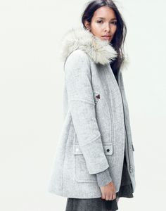 J.Crew women's chateau parka coat. To preorder call 800 261 7422 or email verypersonalstylist@jcrew.com.