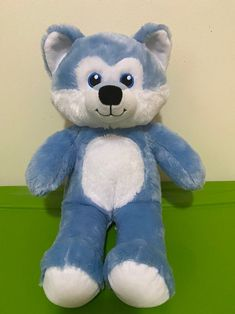 Build a Bear online exclusive Wolf   Mercari Build A Bear Online, Friend Outfits, Dinosaur Stuffed Animal, Wolf, Friends, Clothes, Amigos, Outfits, Clothing