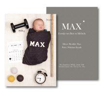 MAX geboorte #doopsuiker