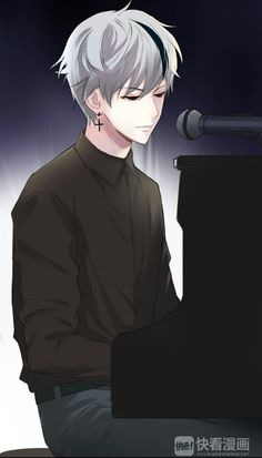 Why does this look like Suga playing the piano.....