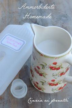 Cinzia ai fornelli: Ammorbidente fatto in casa col Bimby oppure senza