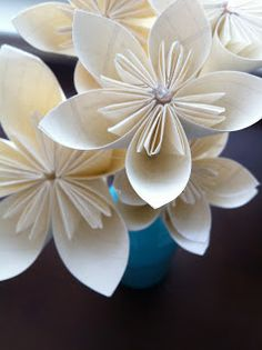 A Whimsy Willow: Paper Flowers