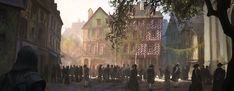 The Latin Quarter - Characters & Art - Assassin's Creed Unity