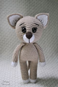 Amigurumi Dressed Cat-Free PAttern - Amigurumi Free Patterns