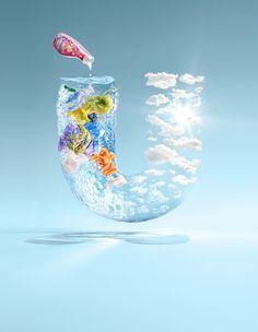 A Unilever convocou o fotógrafo Christian Stoll para desenvolver essas excelentes imagens para sua campanha global.