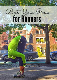 Yoga and running complement each other well. Yoga can improve balance, coordination and mind-body awareness and ultimately improve your running performance. Here are 6 yoga poses for runners. They target the key muscles used for running and the ones most in need of love - hamstrings, calves, hip flexors and groin.