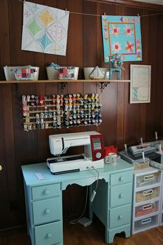 Sewing Room - Machine and Decor