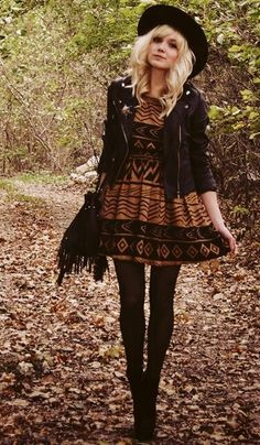 Very pretty outfit. I love the jacket and the hat
